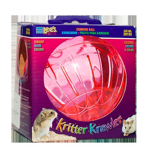 Esfera para hámster de color