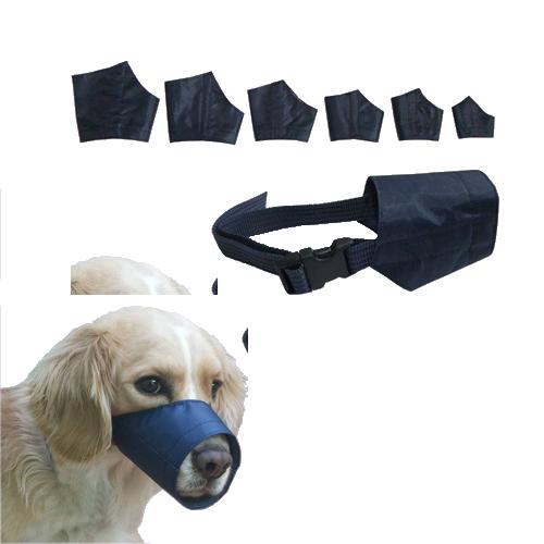 Juego de 6 bozales para perro